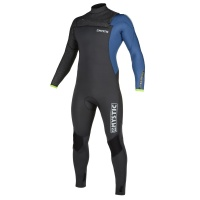 Mystic - Majestic 5/3mm Grey Blue FZ Mens Winter Wetsuit