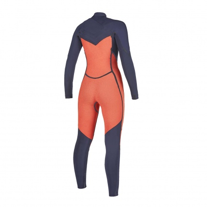 Mystic Dazzled 5/3mm Navy FZ Womens Winter Wetsuit inside back