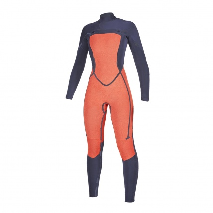 Mystic Dazzled 5/3mm Navy FZ Womens Winter Wetsuit inside front