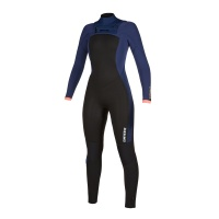 Mystic - Dazzled 5/3mm Navy FZ Womens Winter Wetsuit