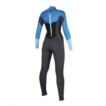 Mystic Star 5/3mm Menthol Blue Womens Winter Wetsuit back