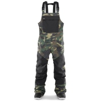 Thirty Two - Basement Camo Mens Snowboard Bib Pants