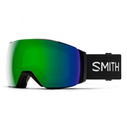 Smith I/O Mag XL Black ChromaPop Sun Green Snow Goggles