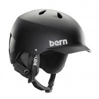 Bern - Watts SMU Crankfit Matte Black Snow Helmet