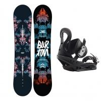 Burton - Stylus Womens Beginner Snowboard Package