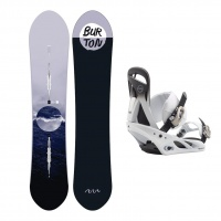 Burton - Day Trader Womens All Mountain Powder Package