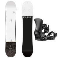 Salomon - Super 8 All Mountain Powder Snowboard Package