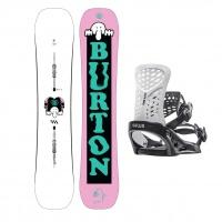 Burton - Kilroy Freestyle Camber Snowboard Package