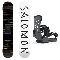 Salomon - Craft All Mountain Freestyle Snowboard Package