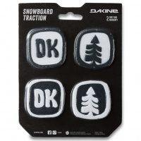 Dakine - DK Dots Black and White Stomp Pads