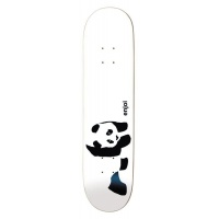 Enjoi - White Panda Logo Wide 8.125