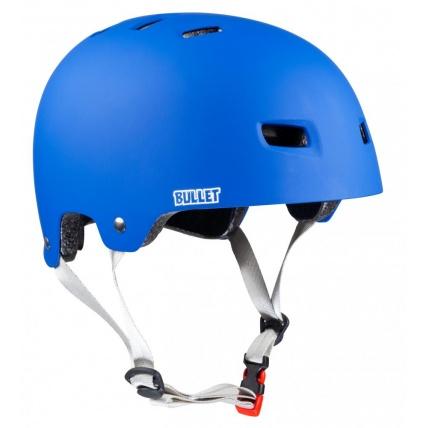 Bullet Santa Cruz Classic Dot Blue Helmet