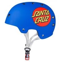 Bullet - Santa Cruz Classic Dot Blue Helmet
