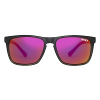 Sinner - Oak Matte Black Grey Red Sintec Polarised Sunglasses