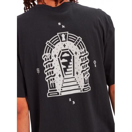 Burton Skeleton Key T Shirt Back Print