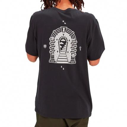 Burton Skeleton Key T Shirt Back