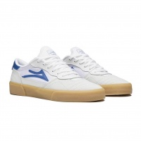 Lakai - Cambridge White Blue Suede