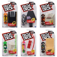 Tech Deck - Street Hits Board and Obstacle
