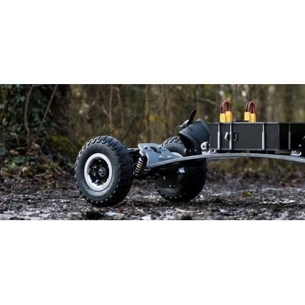 Trampa Electric Mountainboard Test Drive