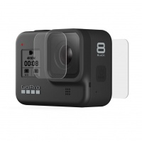 GoPro - Hero8 Black Tempered Glass Lens & Screen Protectors