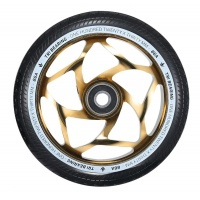 Blunt - 120mm/30mm Tri Bearing Scooter Wheels Gold Black