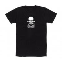 Death - Skateboards White Skull logo Tee