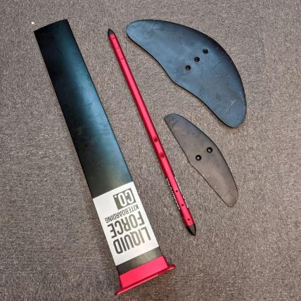 Liquid Force Rocket Foil Wings Kit Detail