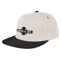 Independent - Baker 4 Life White Snapback