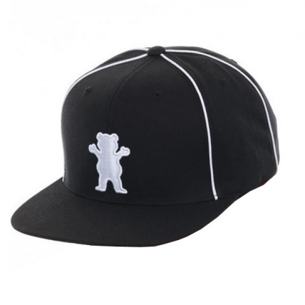 Grizzly Town Snapback Black