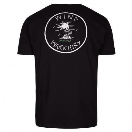 Mystic Windwarriors Tee Caviar Back Print