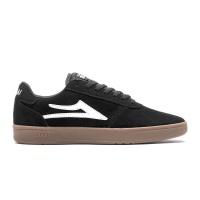 Lakai - Manchester XLK Black Gum Suede Skate Shoes