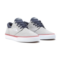 Lakai - Fremont Vulc Light Grey Navy Suede Skate Shoes