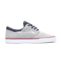 Lakai - Fremont Vulc Light Grey Navy Suede Skate Shoes