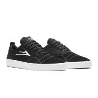 Lakai - Bristol Black and White Suede Pinstripe