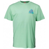 Santa Cruz - Not a Dot Triangle Logo T-Shirt Mint Green