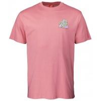 Santa Cruz - Not a Dot Triangle Logo T-Shirt Salmon Pink