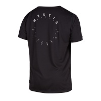 Mystic - Stone Black Short Sleeve Quickdry T Shirt