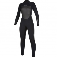 Mystic - Star Womens 5/3mm Black Full Suit Back Zip Wetsuit