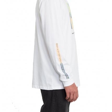 Volcom Earth People Longsleeve T-Shirt White