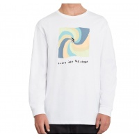 Volcom - Earth People Longsleeve T-Shirt White