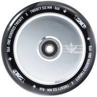 Blunt - Hollowcore Chrome and Black Scooter Wheel 120mm