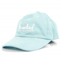 Krooked - Signature Strapback Hat Powder Blue