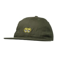 Krooked - Strapback Hat - KR Eyes in Dark Army