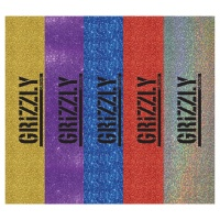 Grizzly Griptape - Glitter Stamp Print Skateboard Grip