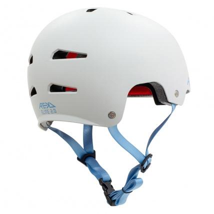 Rekd Protection Elite 2.0 Helmet Grey Rear