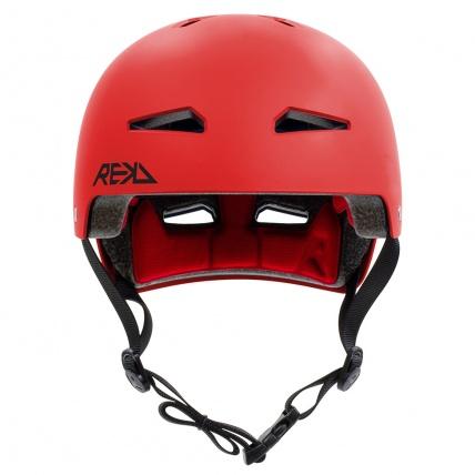 Rekd Protection Elite 2.0 Helmet Red Front