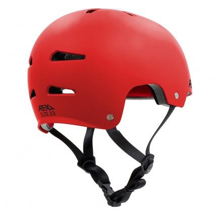 Rekd Protection Elite 2.0 Helmet Red Rear View