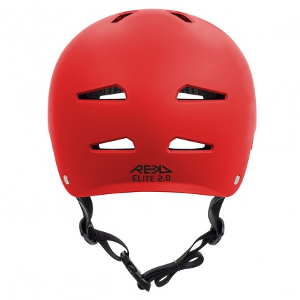 Rekd Protection Elite 2.0 Helmet Red Back