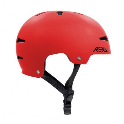 Rekd Protection Elite 2.0 Helmet Red Side