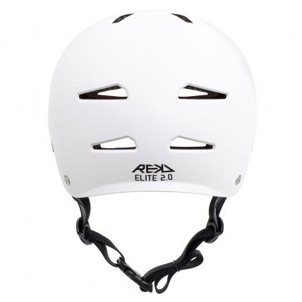 Rekd Protection Elite 2.0 Helmet White Rear